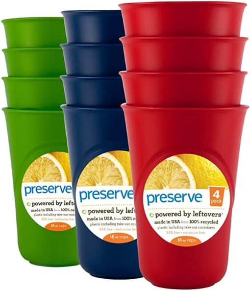 reusable plastic cups