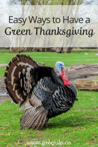 green tips easy thanksgiving
