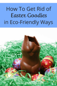 Easter goodies, eco-friendly, reduce waste