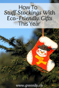 Stocking Stuffer, eco friendly, tips
