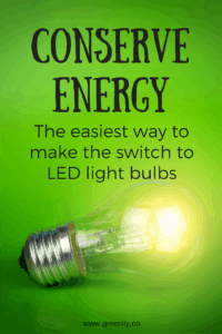 Easy Switch to LED Light Bulbs