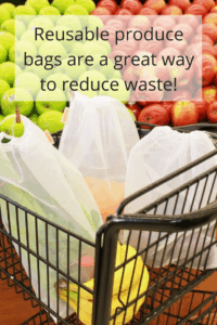 Reusable produce bags help reduce waste