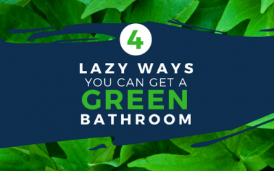 4 Lazy Ways You Can Get a Green Bathroom
