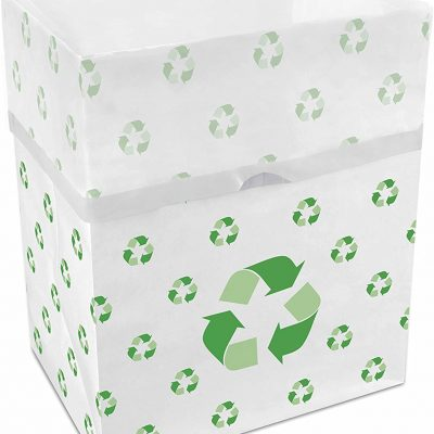 disposable recycling bin